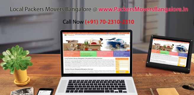 packers movers bangalore india local service provider