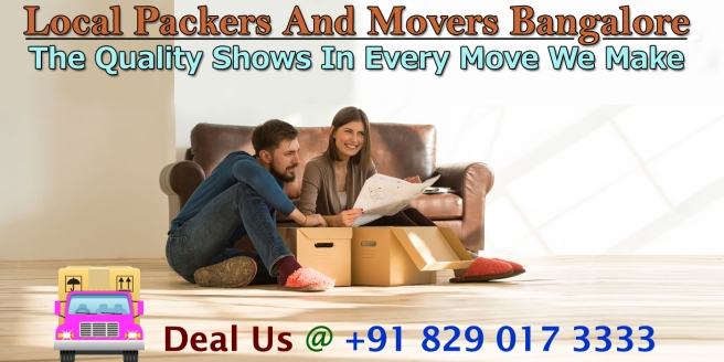 Movers And Packers Bangalore Price Quotes